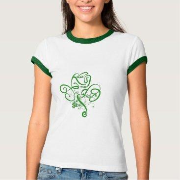 Kiss me I'm Irish Vine Clover II T-Shirt