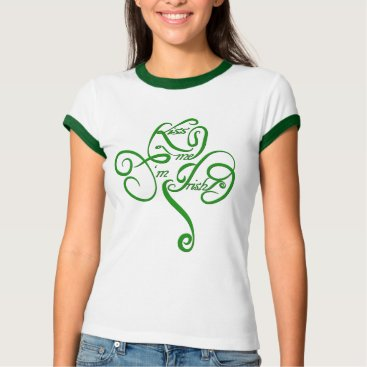 Kiss me I'm Irish Vine Clover T-Shirt
