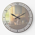 Kitchen - Country - A rural kitchen Large Clock