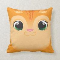 Kitty Cat Pillow | Zazzle