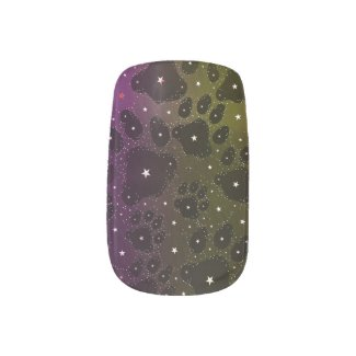 Kitty Paws Full Of Stars Minx Nail Wraps