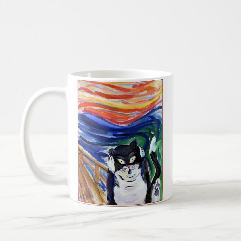 Kitty Scream Mug