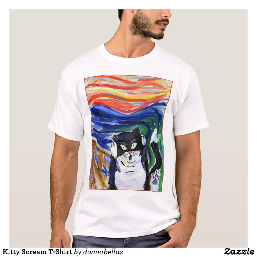 Kitty Scream T-Shirt