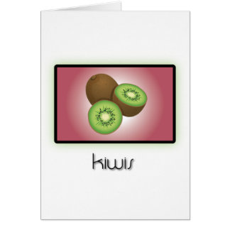 Kiwis Greeting Cards