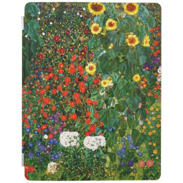 Klimt - Farm Garden with Sunflowers iPad Smart Cover