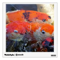 Koi Fish Wall Decals & Wall Stickers | Zazzle