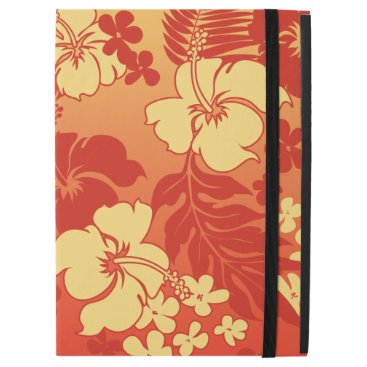 "Kona Blend Hawaiian Hibiscus Aloha Shirt Print iPad Pro 12.9"" Case"