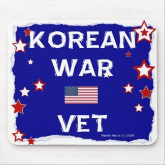 Korean War Vet - In Honor - Mousepad