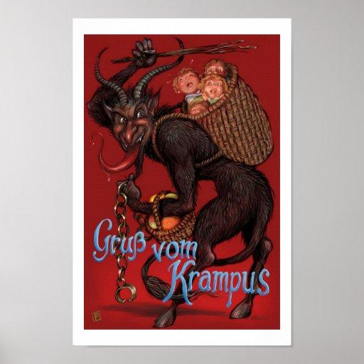 Krampus Poster Zazzle