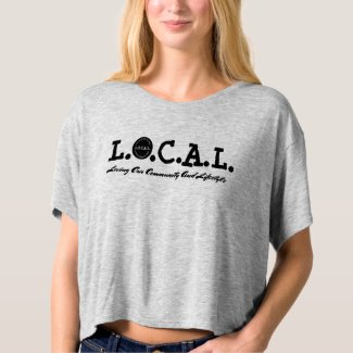 L.O.C.A.L. Boxy girl shirt