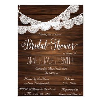 Nice Rustic Wedding Shower Invitations 28 Ideas With