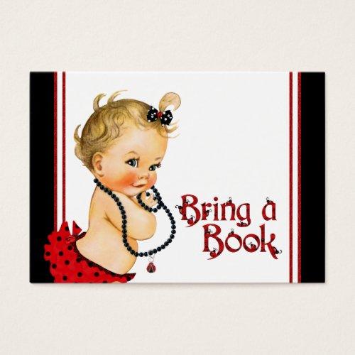 Ladybug Bring a Book Cards Blonde