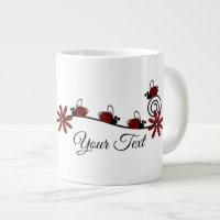 Ladybug - Jumbo Mug