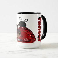 Ladybug Sleepover Mug