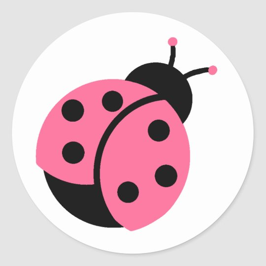 ladybug stickers envelope seals