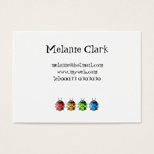 Ladybugs Business Card