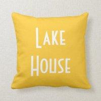 Lake House - Throw Pillow | Zazzle