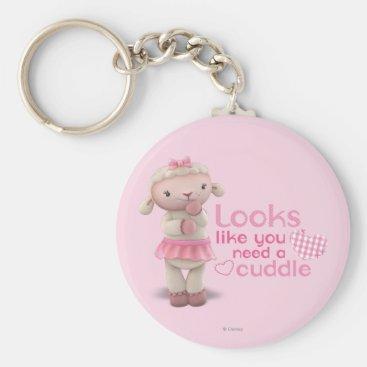 Lambie - Looks Like You Need a Cuddle Keychain