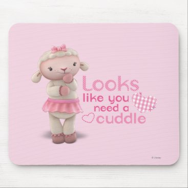 Lambie - Looks Like You Need a Cuddle Mouse Pad