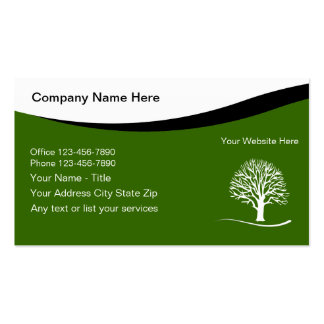 landscaping business cards & templates