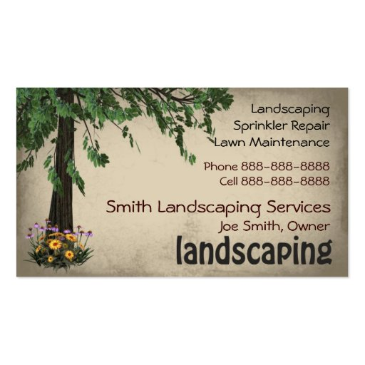 landscaping lawn care services