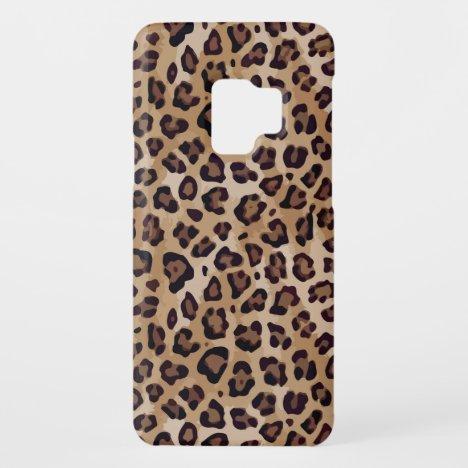 Large Leopard Print Case-Mate Samsung Galaxy S9 Case
