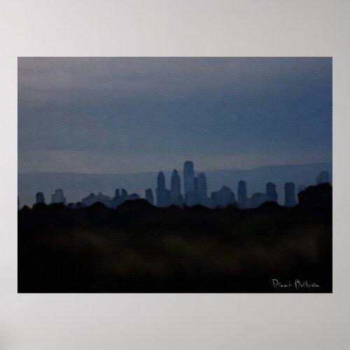 Las Vegas Skyline print