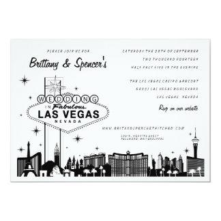 Las Vegas Wedding Invitation Kit 6