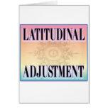 """""""Latitudinal Adjustment"""" cards"""