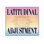 """""""Latitudinal Adjustment"""" postcards"""