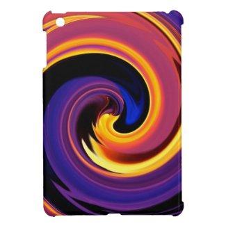 Lava Swirl iPad Mini Case