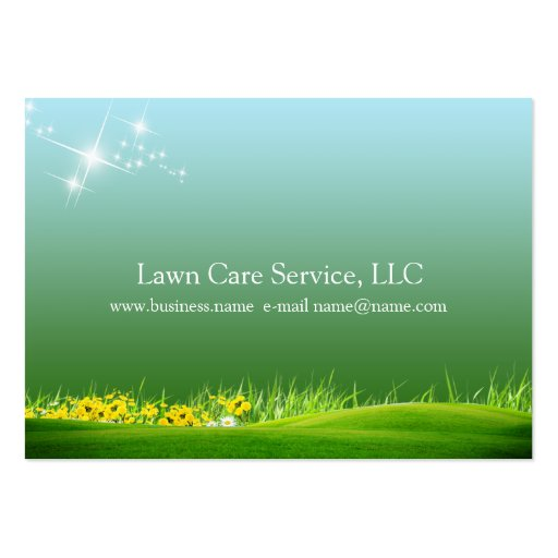 lawn care business large