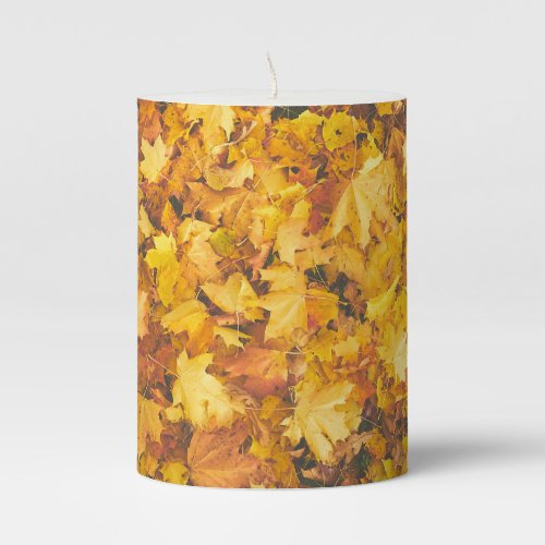 Leaf It - Pillar Candle