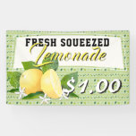 Lemons Citrus Fruit Lemonade Stand Banner