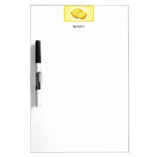 Lemons Dry Erase White Board
