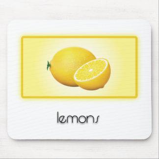 Lemons Mouse Pad
