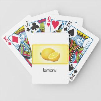 Lemons Poker Deck
