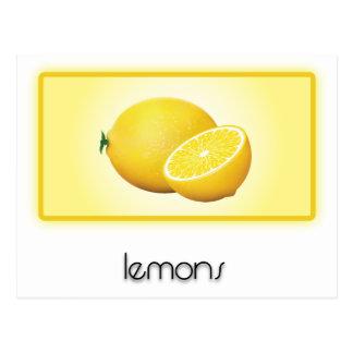 Lemons Post Cards