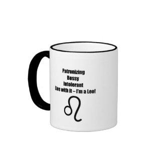 Leo Coffee Mugs