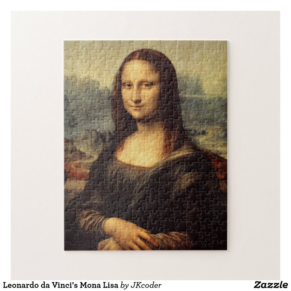 Leonardo da Vinci's Mona Lisa Jigsaw Puzzle