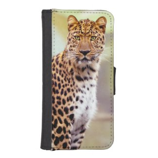Leopard Photograph iPhone SE/5/5s Wallet