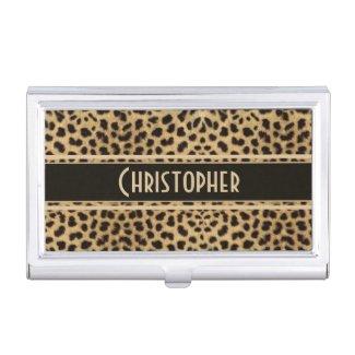 Leopard Skin Pattern Personalize