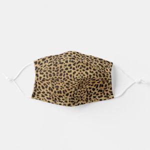 Leopard Skin Spots Cloth Face Mask