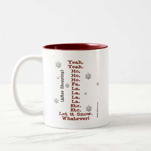 Let It Snow - Before & After Shopping - Mug mug