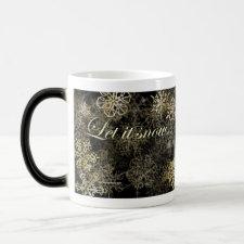 Let It Snow - Morphing Mug