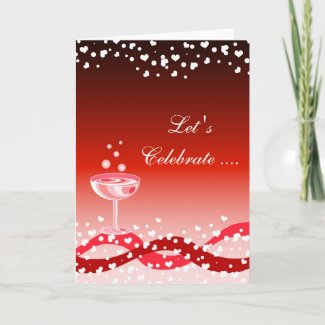 Let's Celebrate card card