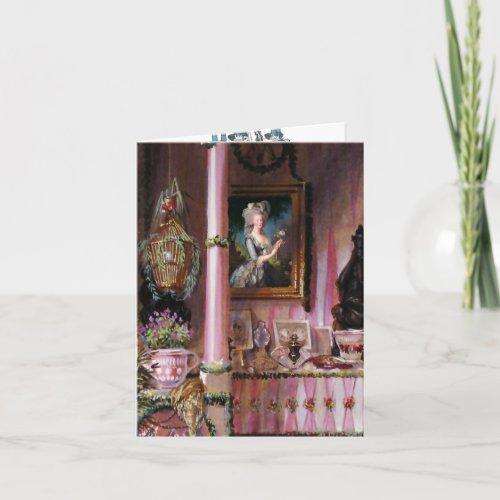 Lets Eat Cake Marie Antoinette PAPER/SIZE OPTIONS- Card