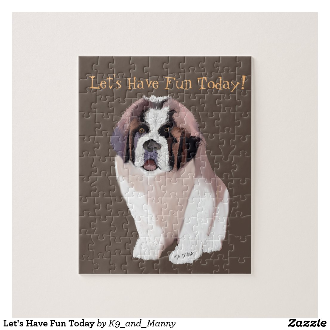 Let's Have Fun Today Jigsaw Puzzle