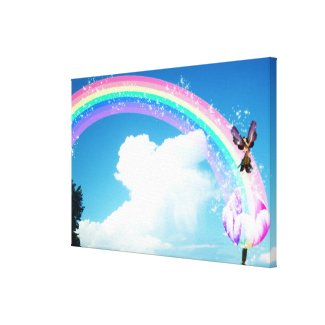 Let's Make a Rainbow Stretched Canvas Prints