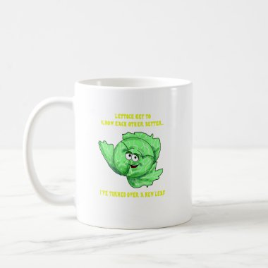 Lettuce Pick Up Lines mugs